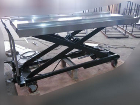 Image of an hydraulic body lifter
