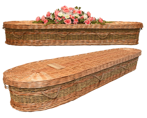 Image of Hand woven Casket The Revelation